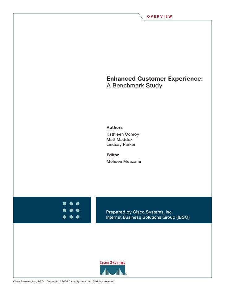 OVERVIEW                                                                                   Enhanced Customer Experience:  ...
