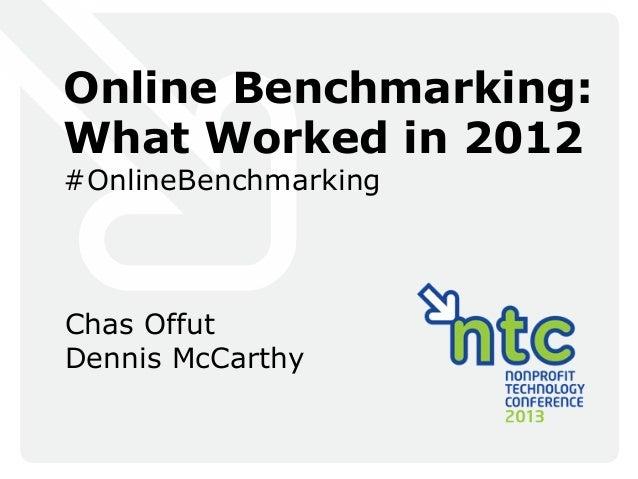Benchmark study presentation  final