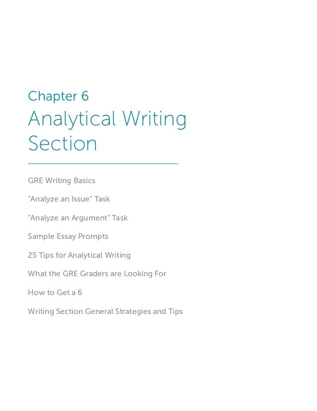 How To Write Gre Analytical Writing Essays Gre Analytical
