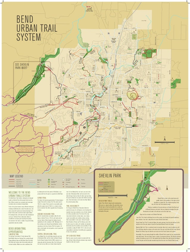 ắằẳ Tumalo State Park (Day Use Area)  Bend Urban Trail System  Juniper Ridge  Overturf Park  SKYLINER RD.  D  ARIZONA ST. ...