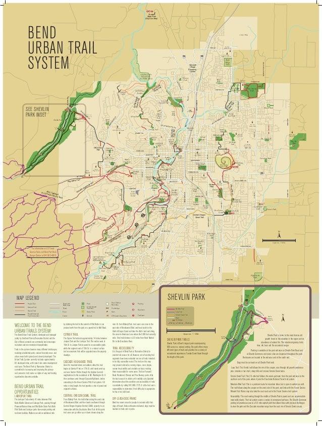 Bend oregon trail map