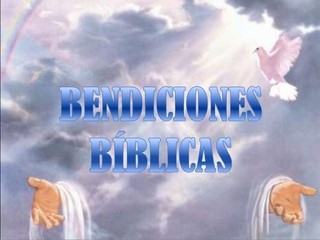 Bendiciones Biblicas