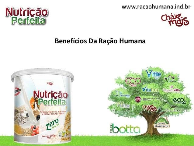 www.racaohumana.ind.br  Benefícios Da Ração Humana