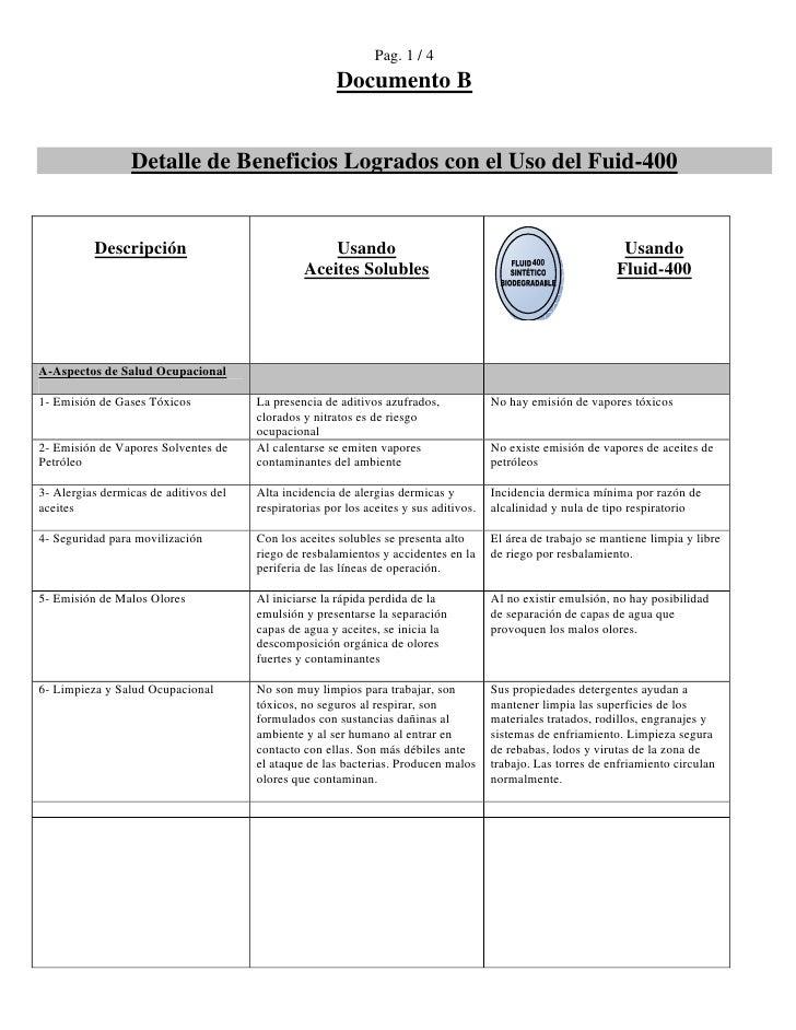 Pag. 1 / 4                                                        Documento B                    Detalle de Beneficios Log...