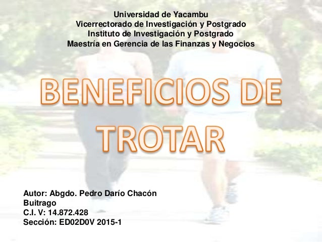 Autor: Abgdo. Pedro Darío Chacón Buitrago C.I. V: 14.872.428 Sección: ED02D0V 2015-1 Universidad de Yacambu Vicerrectorado...