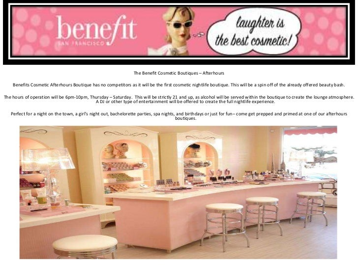 the gallery for gt benefit cosmetics background