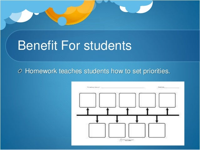 Do students benefit homework