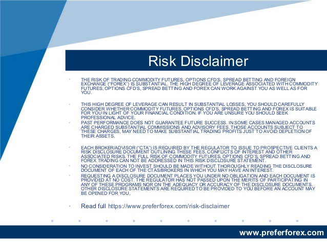 Risk Disclosure - Futures Trading Disclaimer   Forex Risk Disclosure