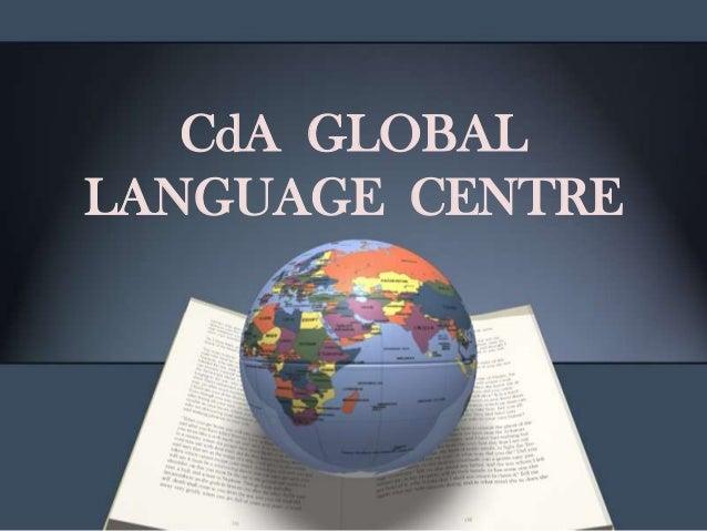 CdA GLOBAL LANGUAGE CENTRE