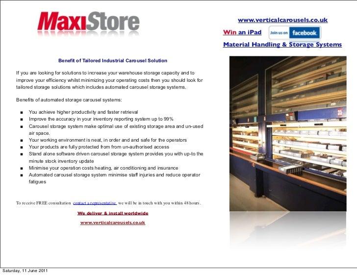 www.verticalcarousels.co.uk                                                                                               ...