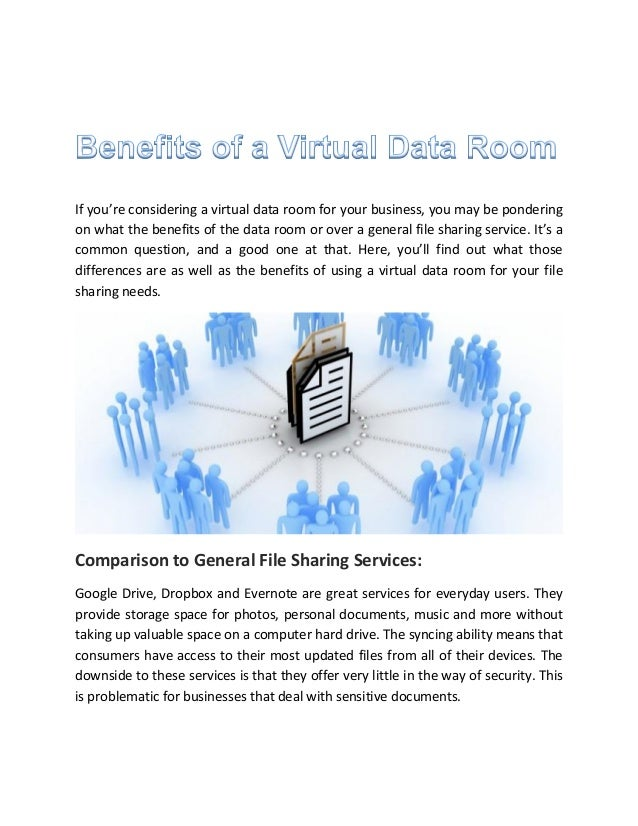If you're considering a virtual data room for your business, you may be pondering on what the benefits of the data room or...