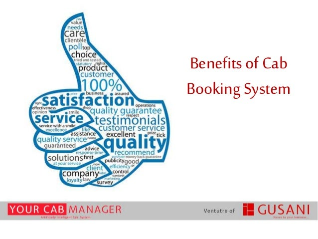 Benefits of Cab Booking System