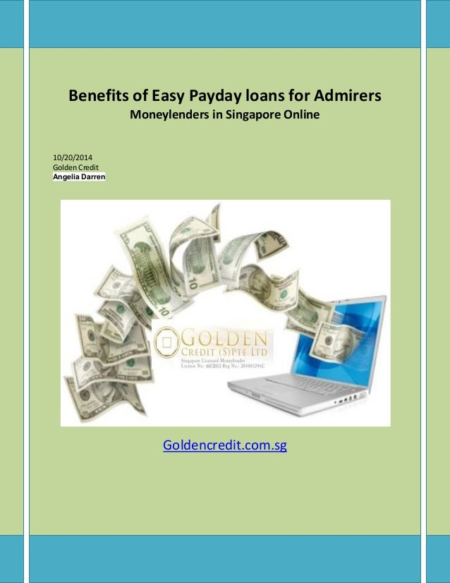 Benefits of easy payday loans for admirers