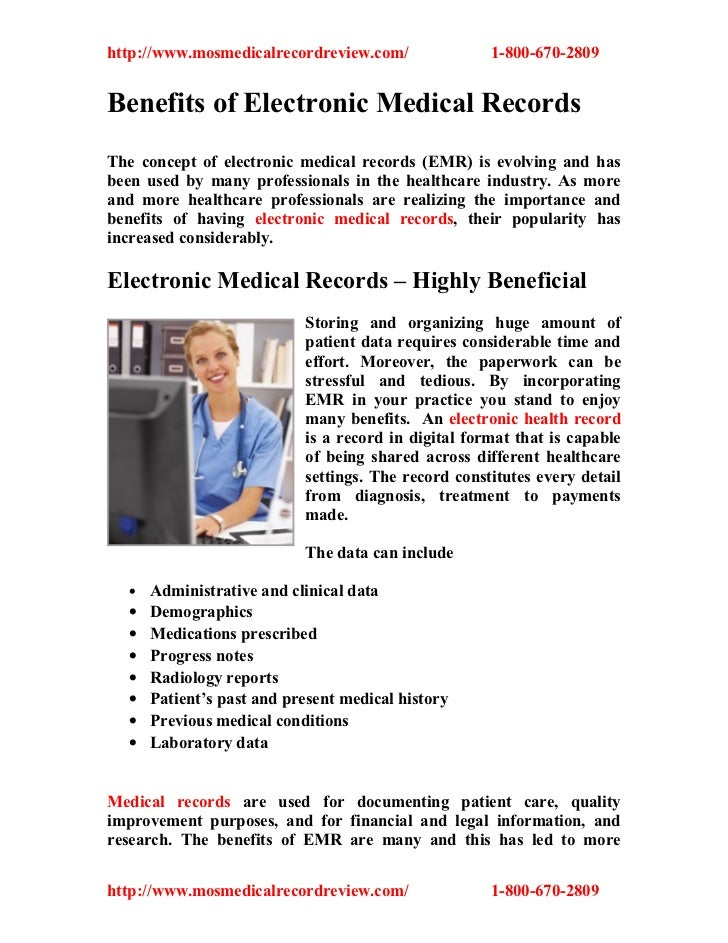 electronic medical records emr essay
