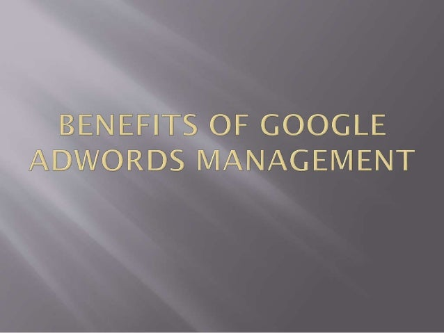 Google Adwords are unique because they have a lot to offer website that are looking to make money and earn conversions. It...