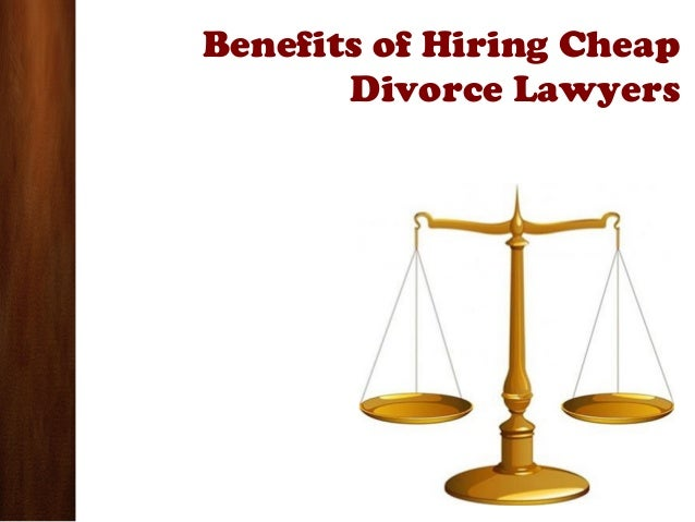 Avail the Service of Cheap Divorce Lawyers