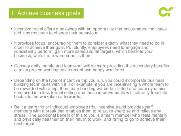 What is Incentive travel & the background of it? any useful website for research? Thanks,?