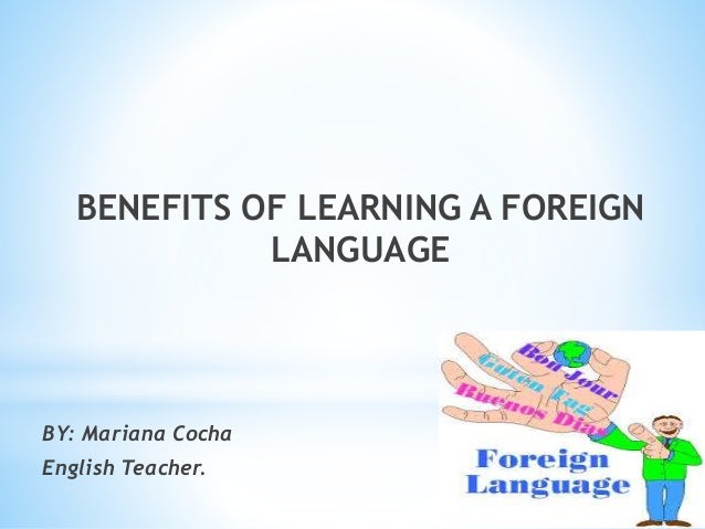 essay about benefits of learning english