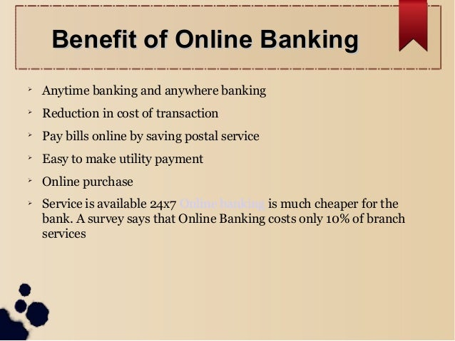 What are the drawbacks of online banking??