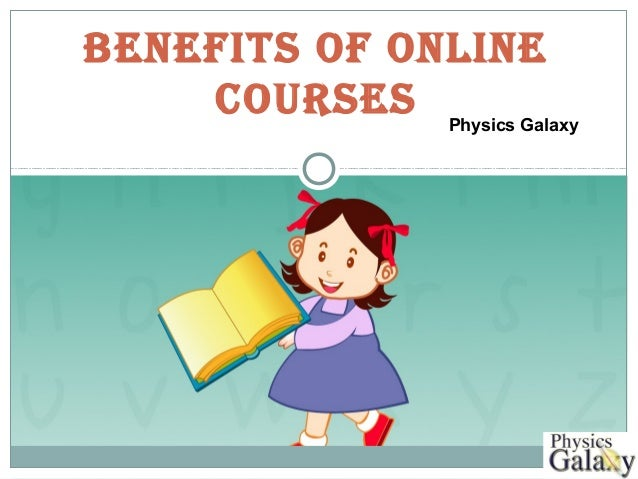 Online physics courses