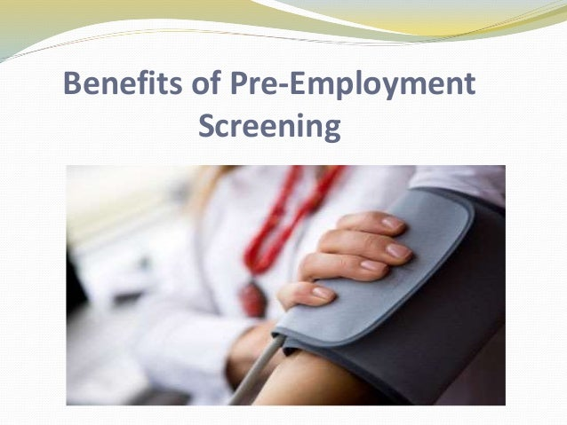 pre employment screening and social networking a Many law enforcement agencies are combing thorough social networking profiles of applicants to gain issues surrounding social media for employment screening.