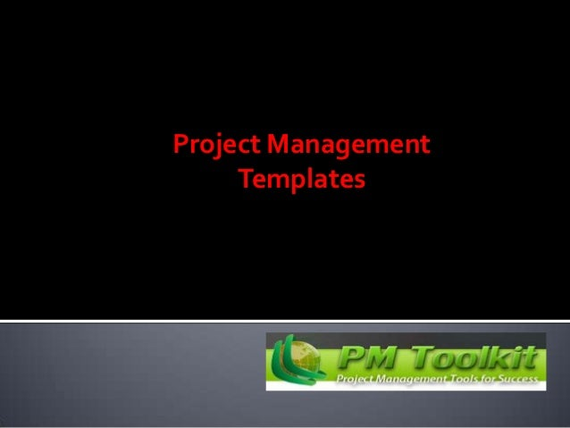 Benefits of project management templates ppt