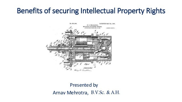 Benefits Of Securing Intellectual Property Rights