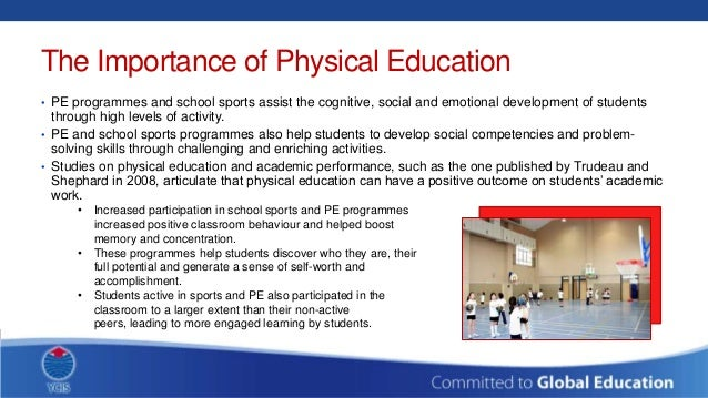 the importance of physical activity essay