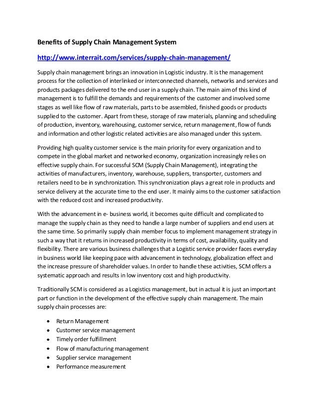 benefits of combining procurement management essay Introduction to project management academic essay assignment - wwwtopgradepaperscom  its a tactic for managing projects by combining strategy, goals, and nuts .