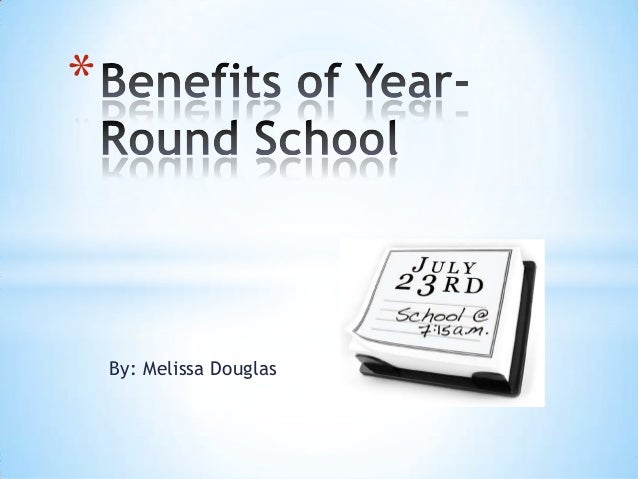 the educational and economic benefits of year round schooling in the us We need year-round school to compete globally us department of education economic year-round schooling would not be repealing the child labor.