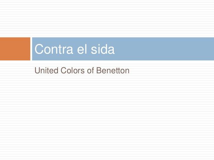 Campa as de benetton for Benetton sida