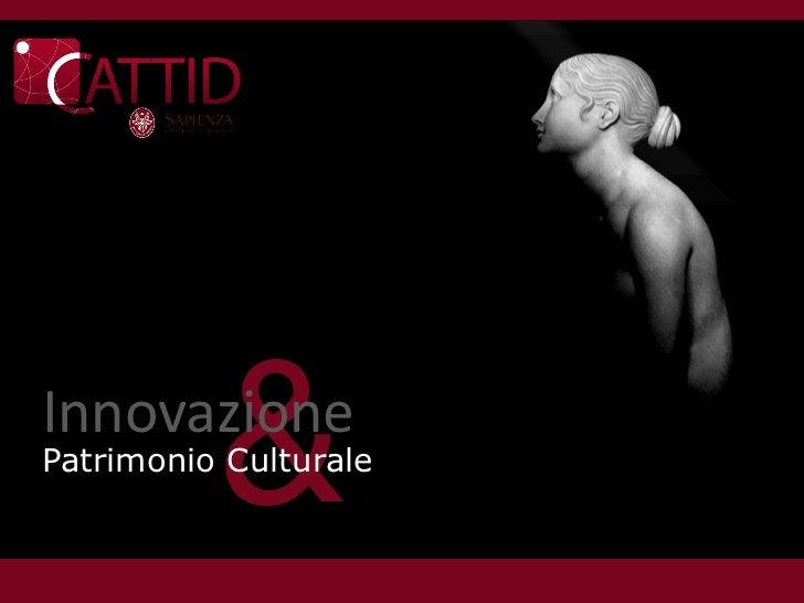 &InnovazionePatrimonio Culturale
