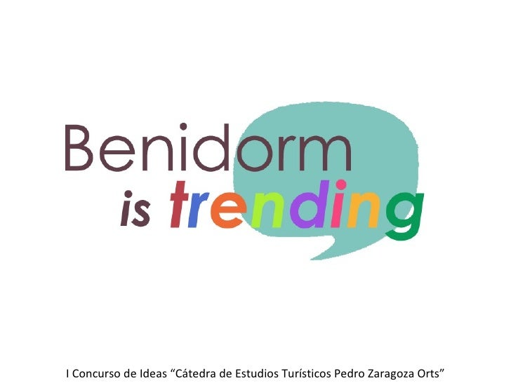Benidorm is trending