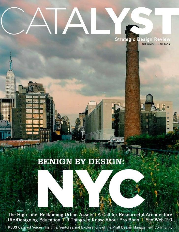 CATALYST Strategic Design Review, Issue 1