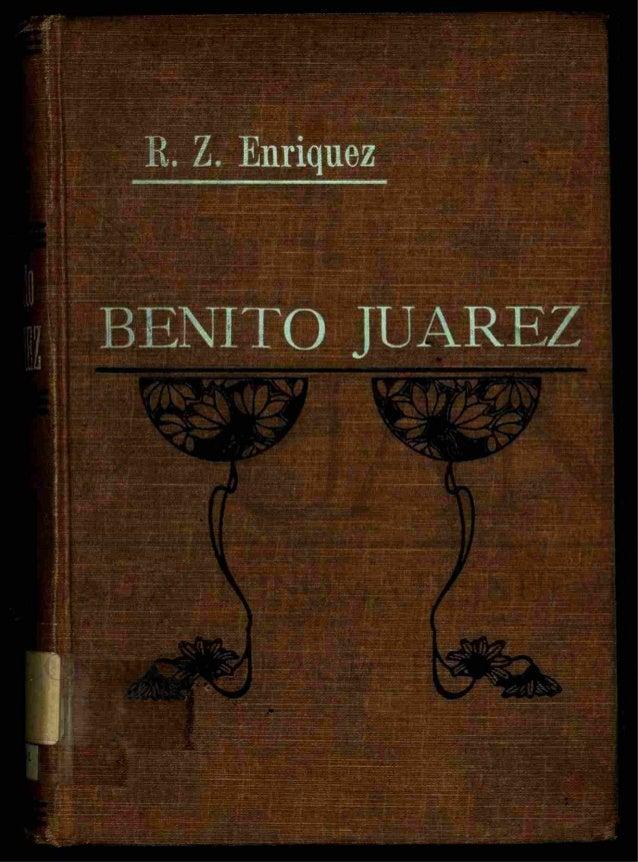 vida y obra de benito juarez: