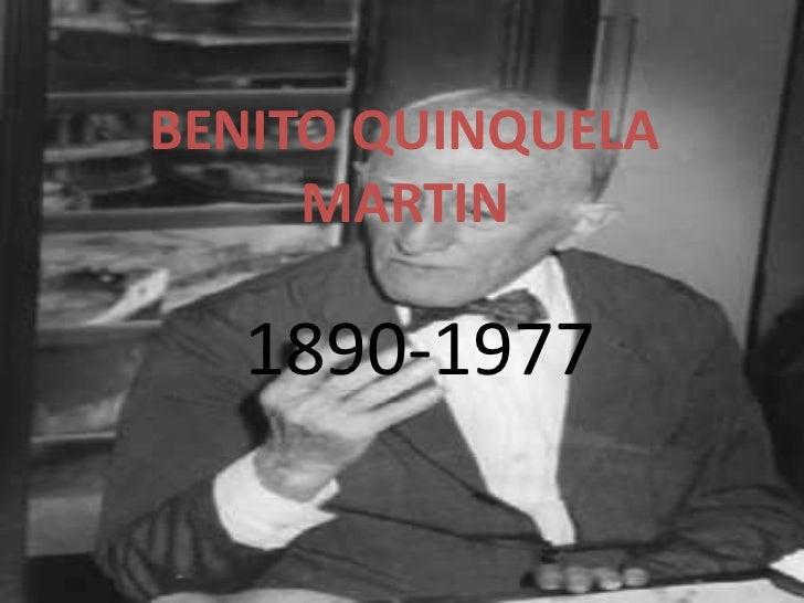 BENITO QUINQUELA     MARTIN  1890-1977