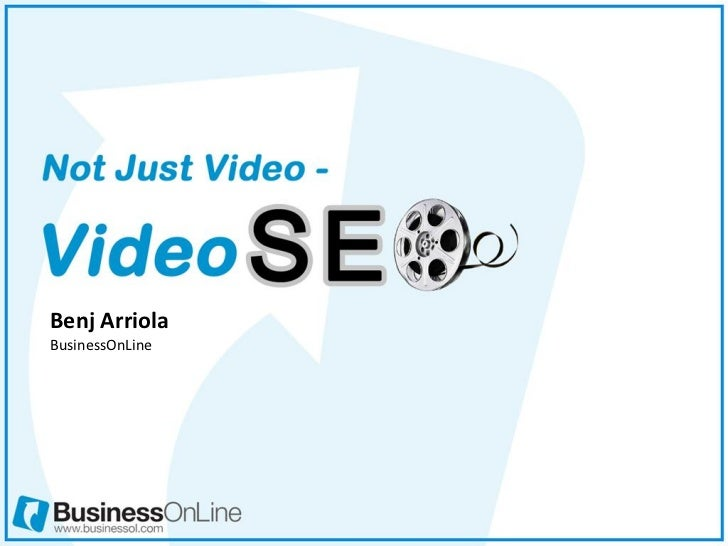 Not Just Video—VideoSEO