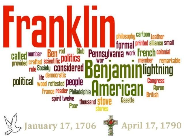 January 17, 1706 April 17, 1790