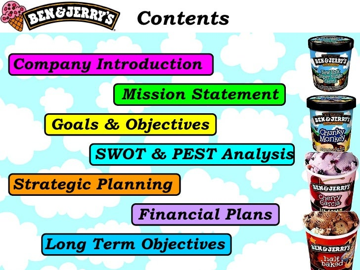 ice cream business plan pdf