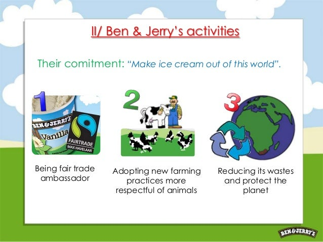 a overview of ben jerrys company The presentation is regarding ben & jerry ice-cream in usa and overview • company history • ben & jerry mission • market segmentation • usp • marketing.