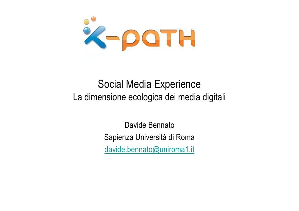 Social Media Experience