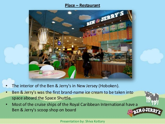 """ben and jerry promotion marketing mix Ben & jerry is studied with its swot, segmentation, targeting, positioning and   prestigious branding through different promotional events """"free cone day"""" 2."""