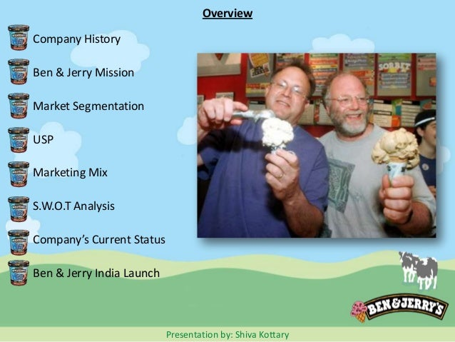 ben and jerry market segmentation Start studying marketing finial learn vocabulary market segmentation ben & jerry's contributes part of it's pre-tax income to charitable and environmental.