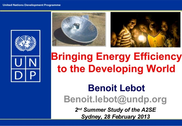 © The                                   Energy                                   ResourceBringing Energy Efficiency       ...