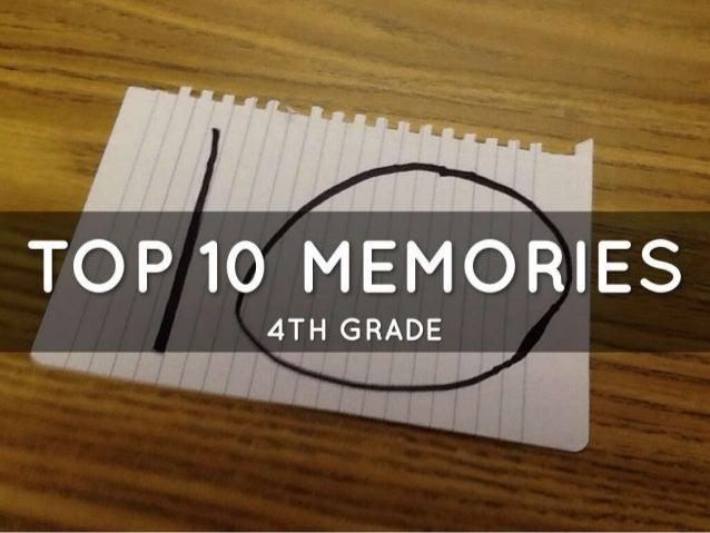 Ben's top 10 memories