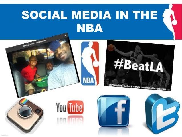 Social Media in the NBA (in progress)