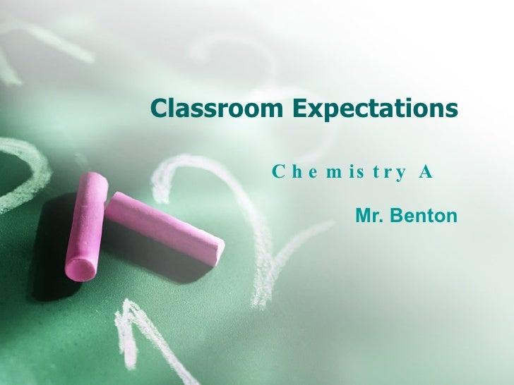 Benton  Classroom Exp