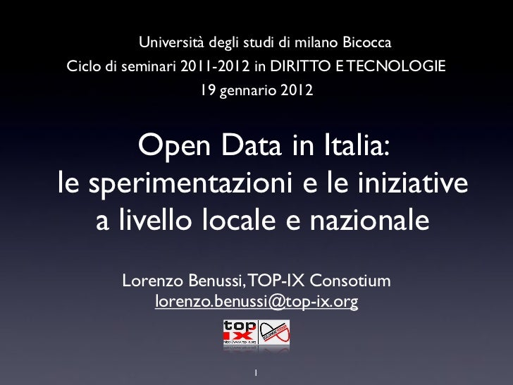 Open Data how to