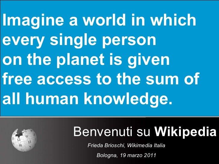 Benvenuti su Wikipedia