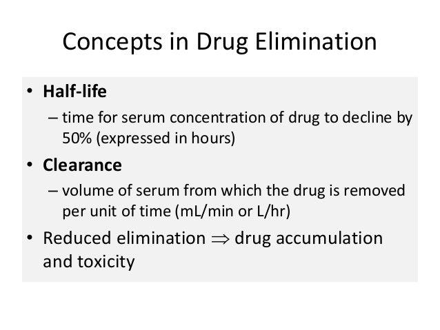 ativan half-life drug elimination